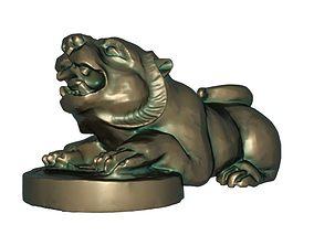 3D printable model Tiger fortune