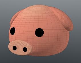 Emoji Pig 3D print model