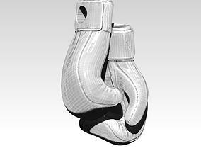 boxing gloves pendant 3D print model sport