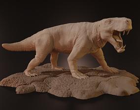 INOSTRANCEVIA - gorgonopsid 3D print model