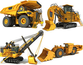 3D Mining Machinery