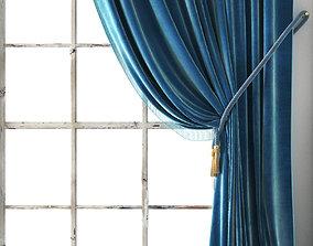 3D model knot Vintage Velvet Drapery