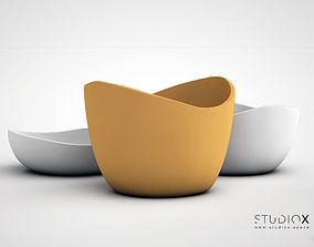 3D printable model ELEMENTs RUSTIC BOWL - LARGE
