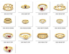 25 love valentine ring 3dm render details bulk 1