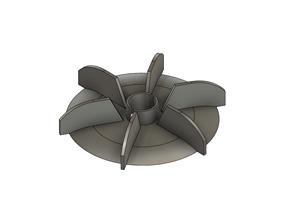 Fan Motor 25mm hole 3D printable model