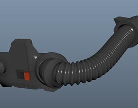 3D print model Star Wars Magma Trooper mouthpiece