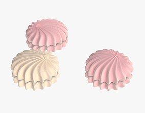 Marshmallow round 3D