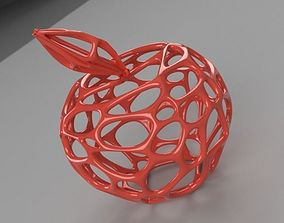 3D print model Apple Wireframe Style printable