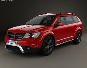 3D model Dodge Journey Crossroad 2014