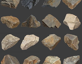 3D model Stones Pack Volume 3