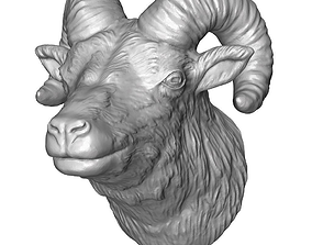 3D printable model ram head 2