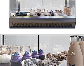 3D bakery Confectionery showcase