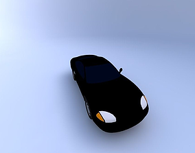 3D model Dodge Stealth 94 with texture