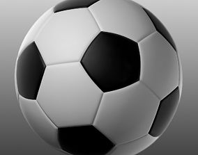 game 3D model Soccer Ball