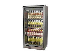 Wine cabinet Enofrigo Enogalax bi-facial 3D model 3