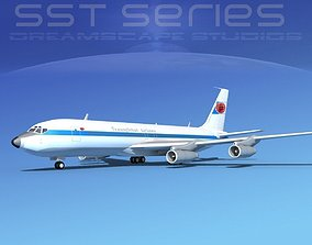 Boeing 707-320 SS Trans Global 3D