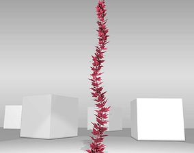 Wild Wine Vine - Parthenocissus - Autumn - 3D model 1