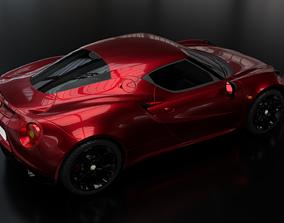 3D model Alfa Romeo 4C Type 960