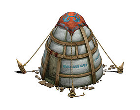 3D Prairie - tent - obo