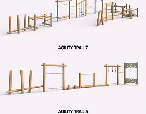 Agility Trail Kompan 3D model