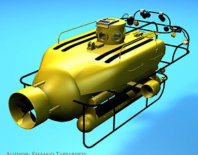 3D model Submersible