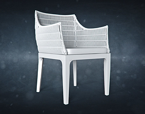 Santos Arm Chair 3D asset