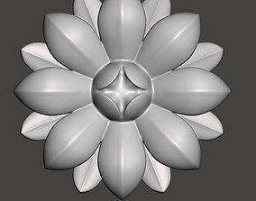 WoodCarving detail - 3d model for CNC - 1