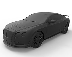 3D printable model Bentley Continental GT3 2014