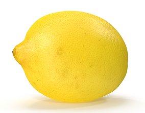 fruit 3D model Lemon