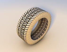 tires 3D asset realtime