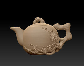 Chinese teapot 3D printable model