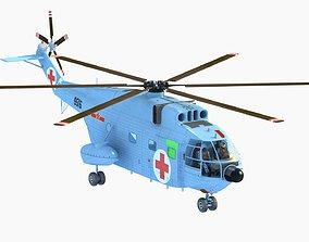 Changhe Z-8 Z8 helicopter Transport plane 3D model
