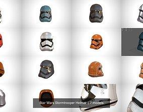 Star Wars Stormtrooper Helmet 3D