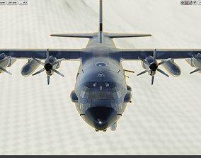 Lockheed AC-130J Ghostrider 3D asset