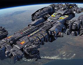 SF Heavy Frigate 3D