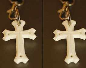 3D printable model East Syriac Cross