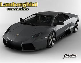 3D model Lamborhini Reventon