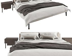 Floyd Hi Bed and Bedside Stilt by Living 3D