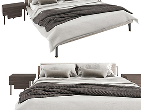 Floyd Hi Bed and Bedside Stilt by Living 3D
