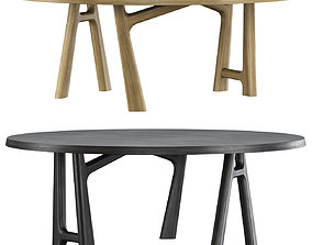 3D asset YBU round table by Jean-Pierre Tortil