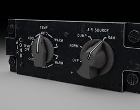 3D model F16 AIR CON Panel