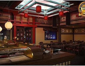 3D Sushi bar