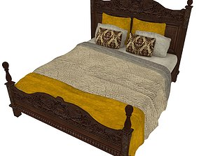 Bedcloth 03 3D model