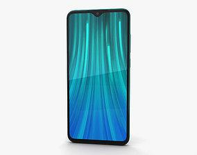 Xiaomi Redmi Note 8 Pro Green 3D model