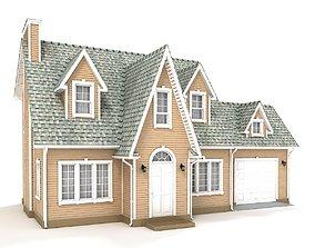 3D model Cottage 65