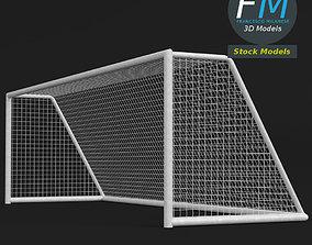 score 3D model PBR Soccer goal 2
