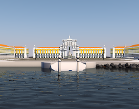 3D Terreiro do Paco - Lisbon Square - Praca do Comercio