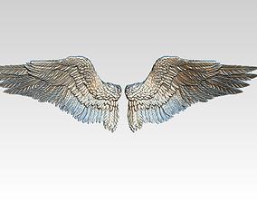 Wings pair LEFT RIGHT 3D print model