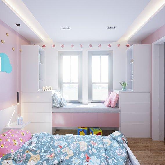 Interior design for a house in Poland
