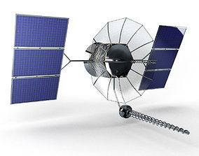 3D asset Satellite Flt Satcom